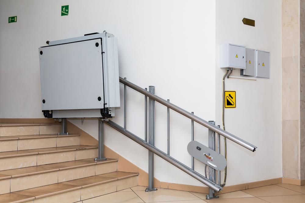 Lift für Rollstuhlfahrer