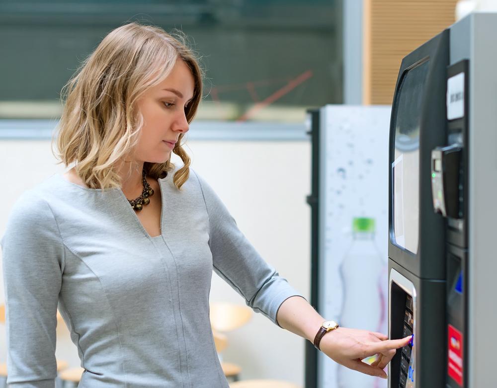 Kaffeevollautomat mit Bezahlsystem