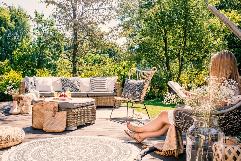 Gestalten Sie Ihre Terrasse zur Ruhe-Oase