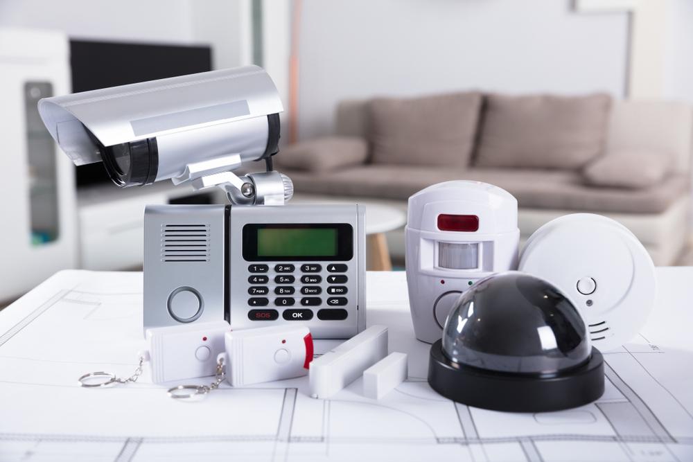 Videoüberwachung, Pin Abfrage, Bewegungs- und Rauchmelder